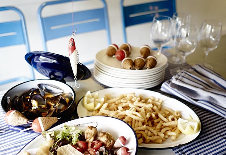 Distintos platos de comida de El Machi